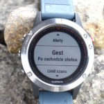 Automatyczne podświetlenie zegarka Garmin Fenix