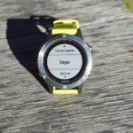 Ustawianie budzika w zegarku Garmin Fenix 5