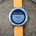 Trening z zegarkiem Garmin Fenix – alerty