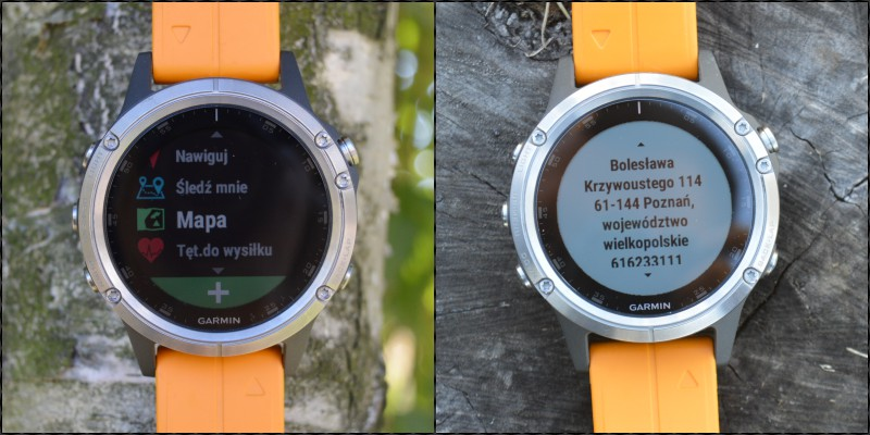 mapa garmin fenix 5 plus