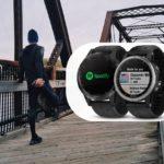 Spotify w zegarku Garmin Fenix 5 Plus
