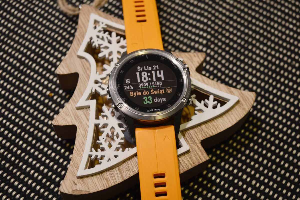 countdown Garmin Fenix