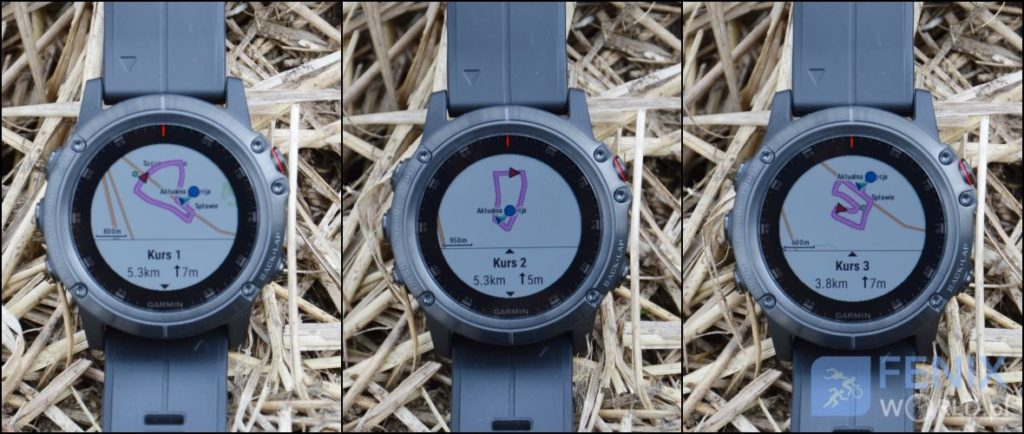 Garmin Fenix 5 Plus kurs