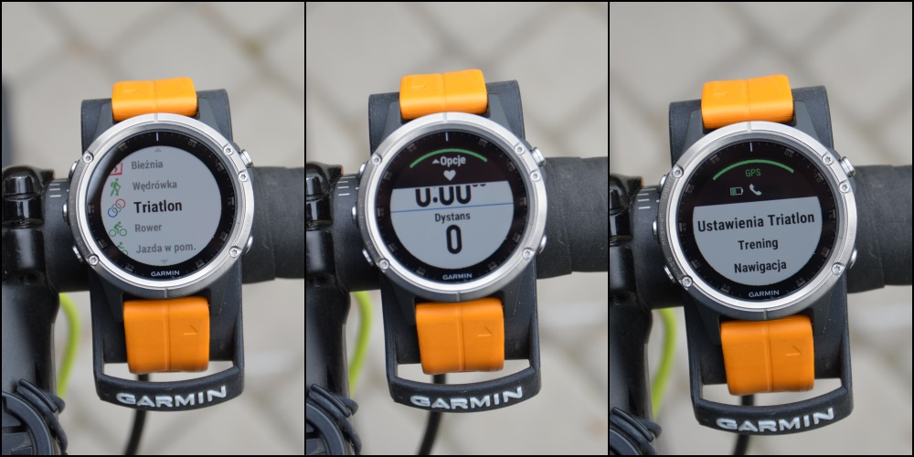 Garmin Fenix 5 Plus triathlon