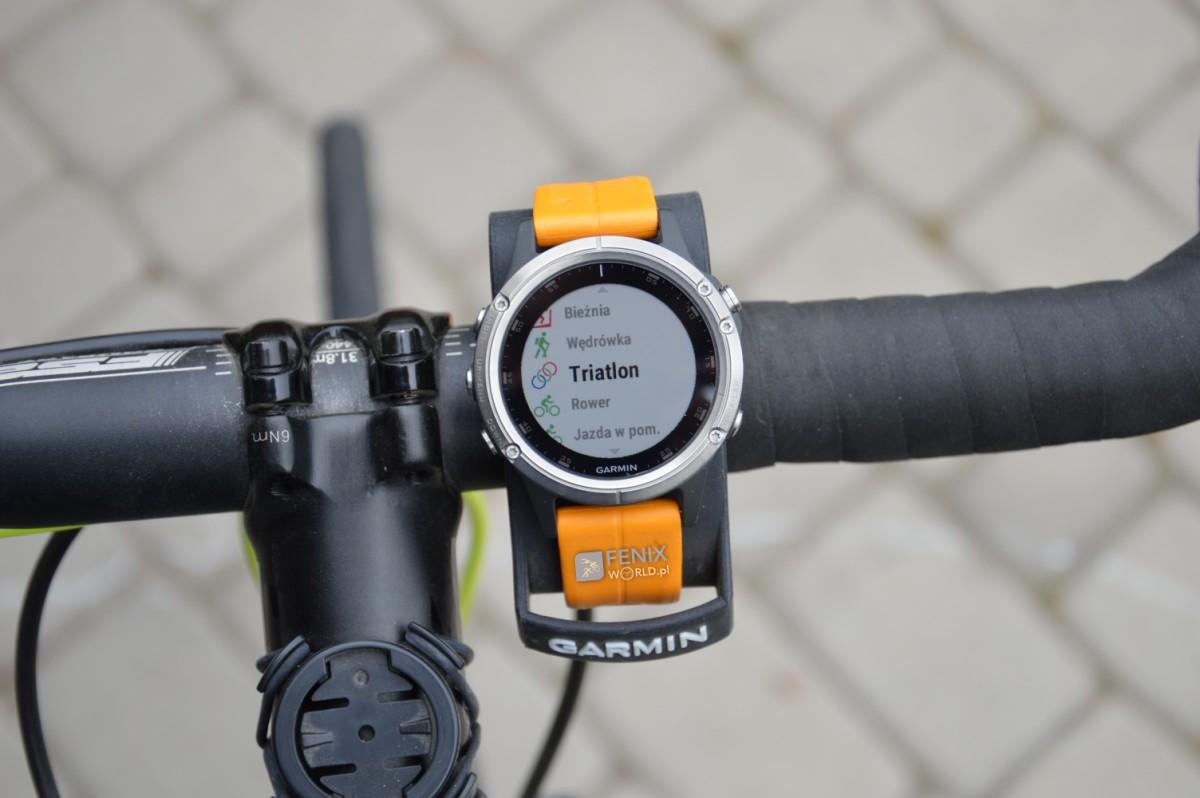 Triathlon z zegarkiem Garmin Fenix 5 Plus