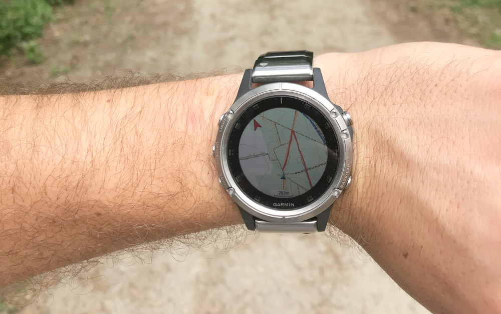 Wróć do startu Garmin Fenix
