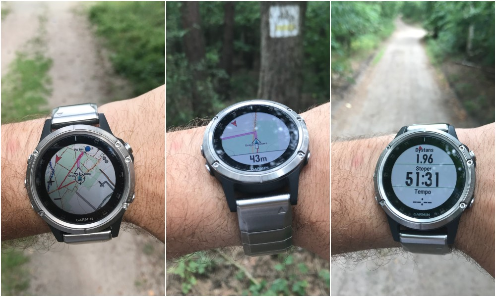 Wróć do startu Garmin Fenix 5 Plus