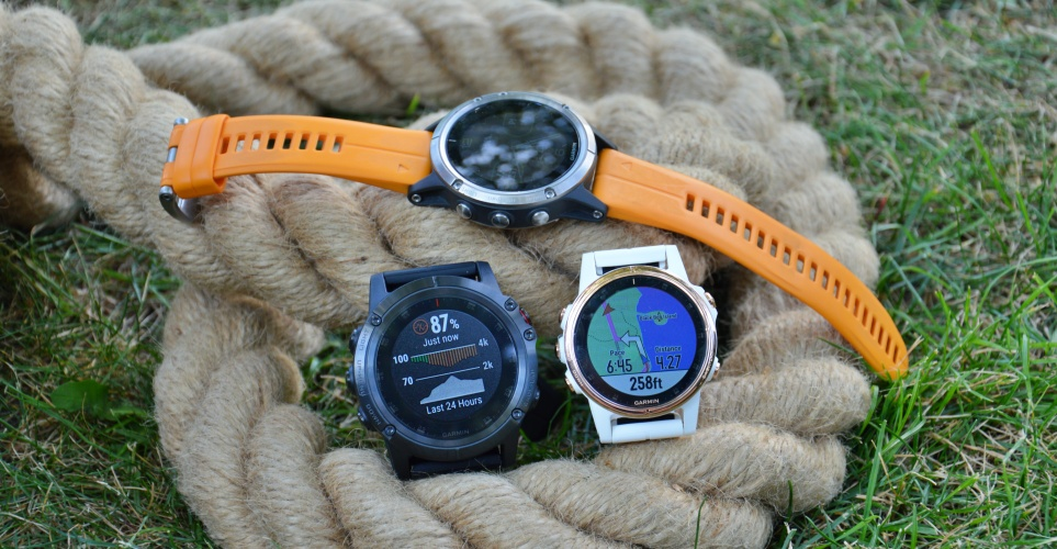 Seria Garmin Fenix 5 Plus