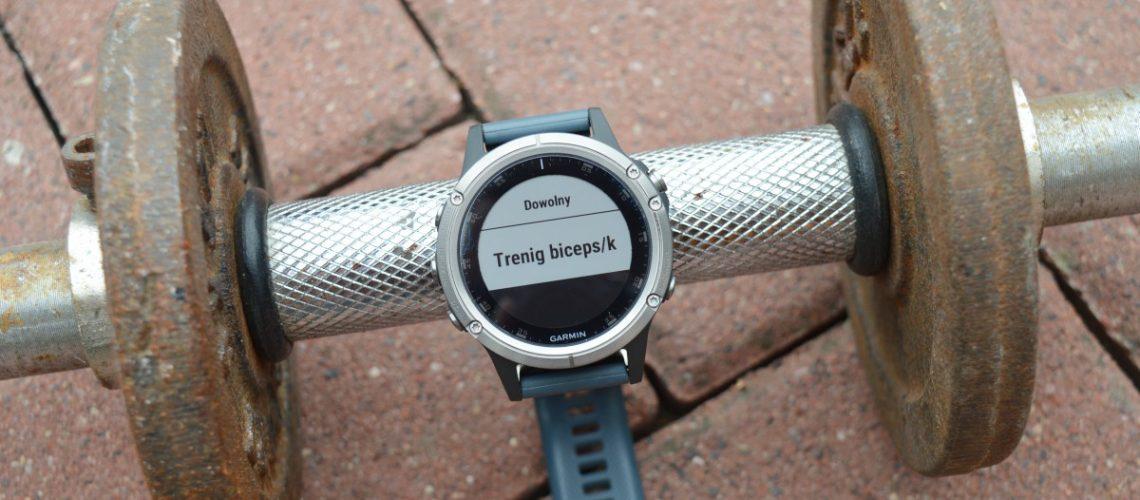 zegarek na siłownię Garmin Fenix