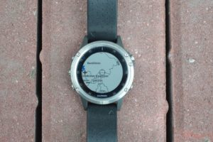 Garmin Fenix 5 plus mapa